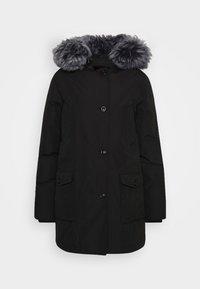 LINDSAY  - Kabát zprachového peří - black