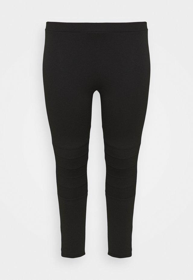 PONTE STITCH - Legging - black