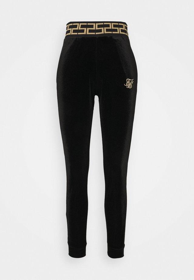LUXURY TRACK PANTS - Trainingsbroek - black