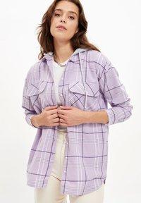 DeFacto - Button-down blouse - purple - 2
