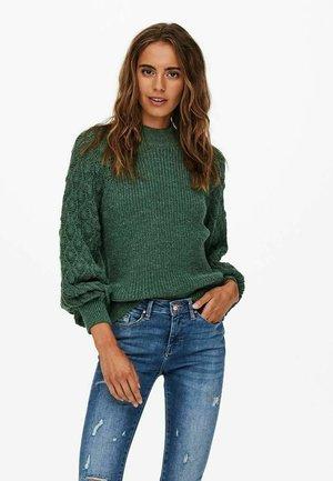 Trui - mallard green
