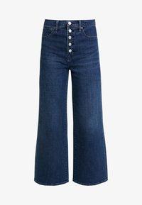 GAP - MONTANA - Flared jeans - dark indigo - 4