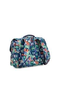 Kipling - INIKO - School bag - robot camo blue - 1
