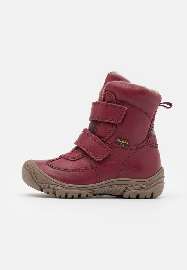 LINZ TEX MEDIUM FIT UNISEX - Botas para la nieve - bordeaux