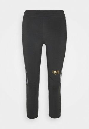 WOMEN JASPE - 3/4 Sporthose - black