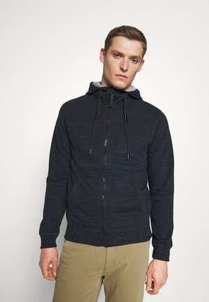 HUGO - Zip-up hoodie - navy mix