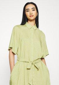 Monki - Shirt dress - green - 3