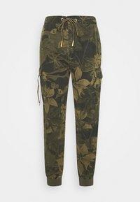 Desigual - PANT MALALA - Pantalones - verde militar - 0