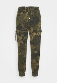 Desigual - PANT MALALA - Pantalon classique - verde militar - 0