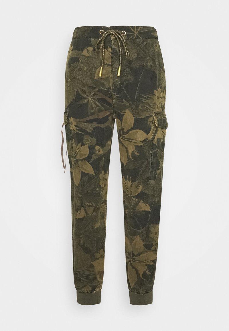 Desigual - PANT MALALA - Pantalones - verde militar