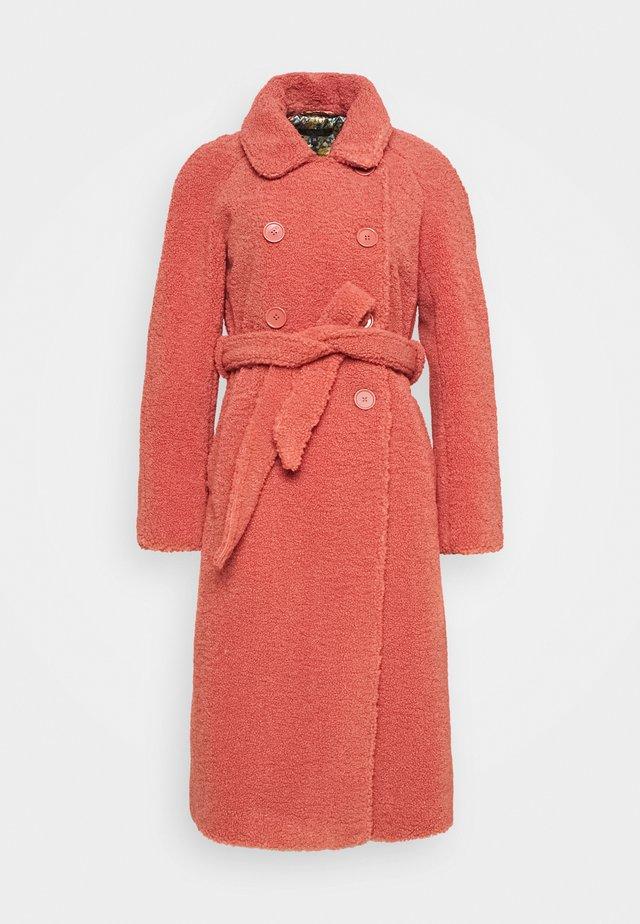 EDITH COAT MURPHY - Cappotto classico - velvet pink