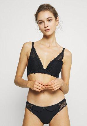 CHERIE CHERIE - Triangle bra - noir