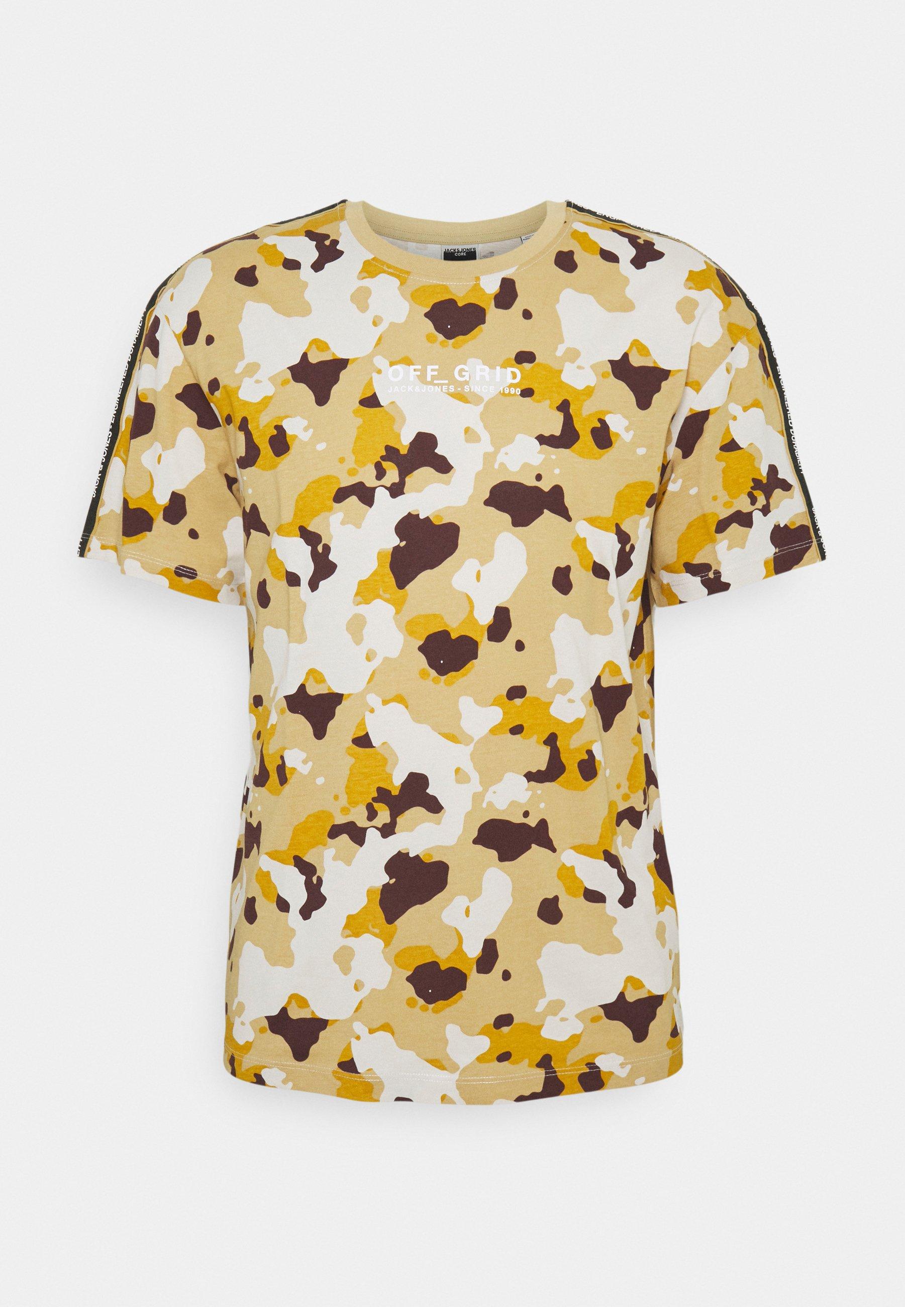 Men JCOCAMO TEE CREW NECK - Print T-shirt