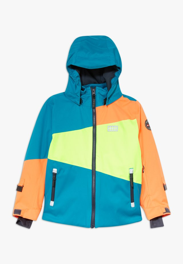 LWJOSHUA 701 - Snowboard jacket - dark turquoise