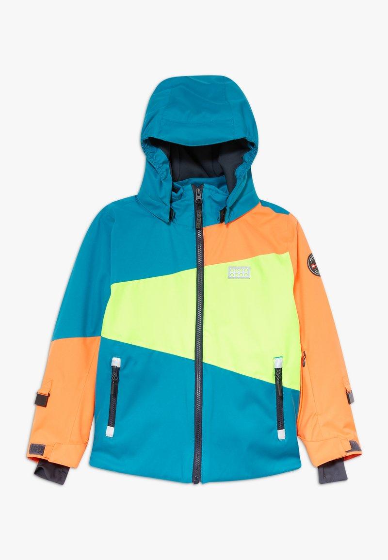 LEGO Wear - LWJOSHUA 701 - Kurtka snowboardowa - dark turquoise
