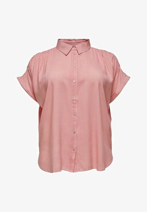 CARMAROK LIFE - Button-down blouse - cloud dancer/tea rose