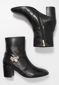 Steffen Schraut - MID LOCK - Classic ankle boots - black/gold - 2