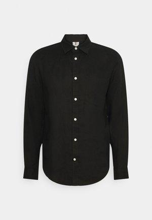 Linen Shirt - Shirt - black
