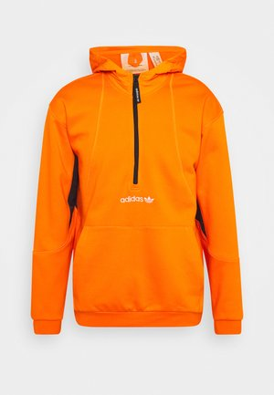 FIELD HOODY - Felpa con cappuccio - orange