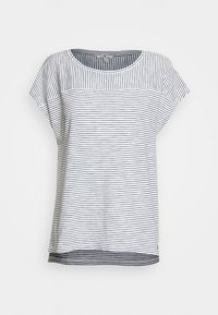 TOM TAILOR - STRIPED - Print T-shirt - offwhite - 0