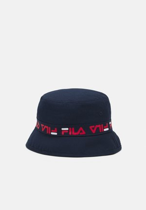 TAPED BUCKET HAT - Sombrero - black iris