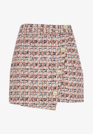 Wrap skirt - orange