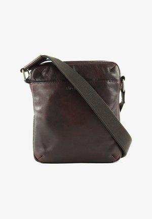 COLEMAN  - Across body bag - dark brown