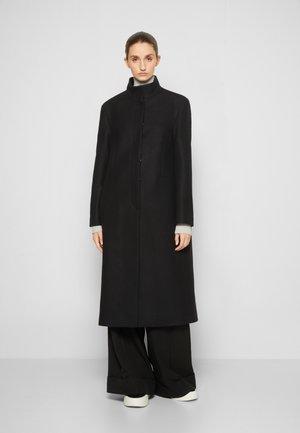 COAT - Classic coat - black