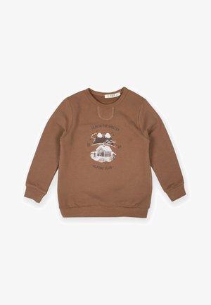 Sweater - dark brown