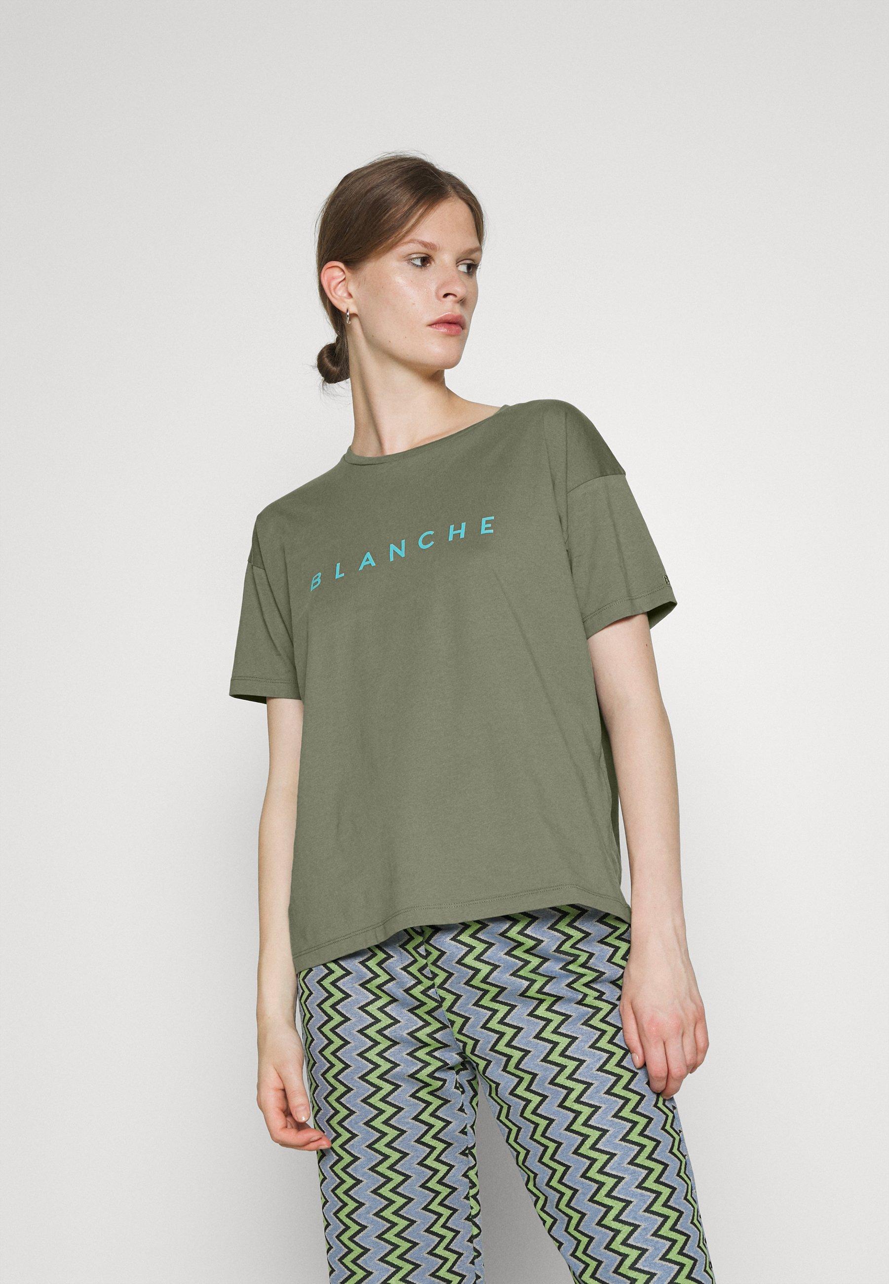 Women MAIN CONTRAST - Basic T-shirt