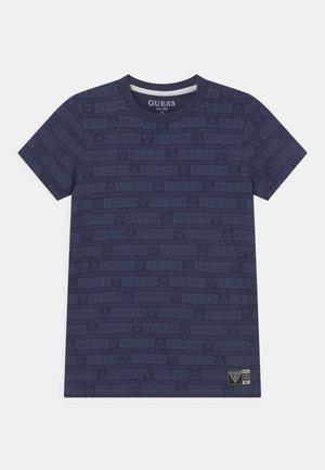 UNISEX - T-shirt print - bleu/deck blue