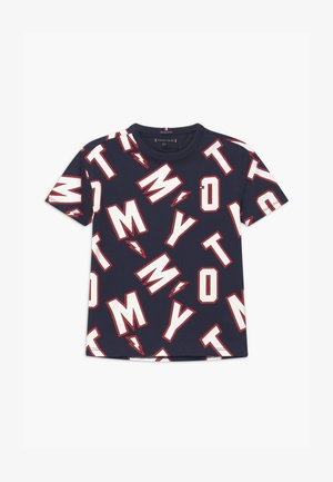 FUN TEE - Print T-shirt - blue