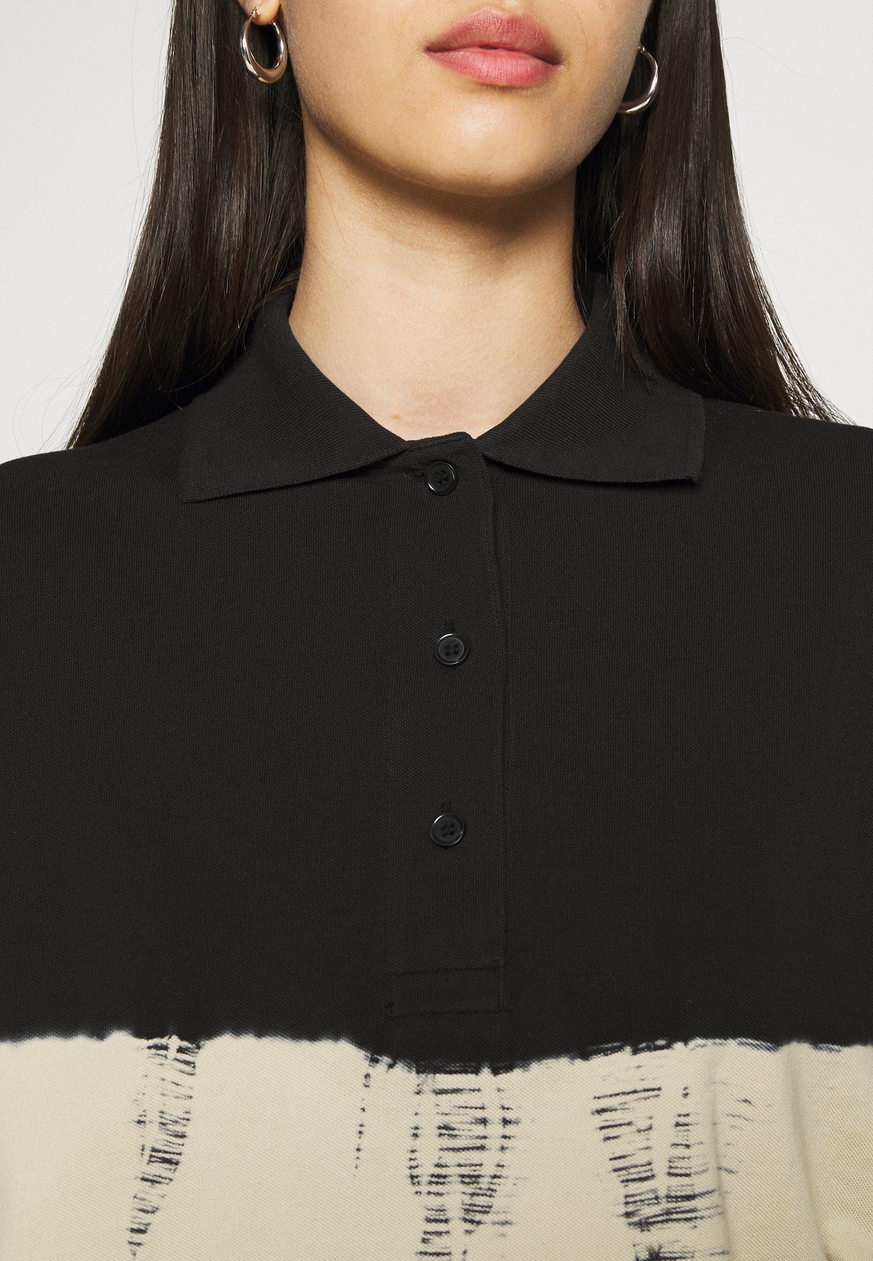 Women KALANI CROPPED LONG SLEEVE - Polo shirt