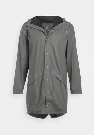 UNISEX LONG JACKET - Waterproof jacket - smoke