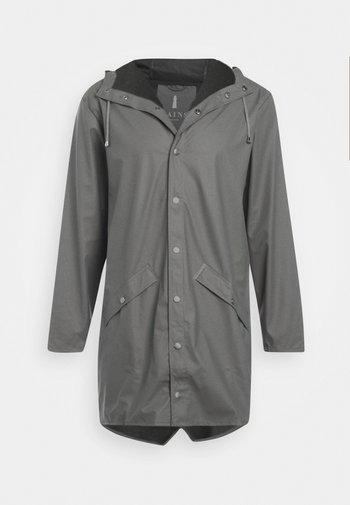 LONG JACKET UNISEX - Waterproof jacket - smoke