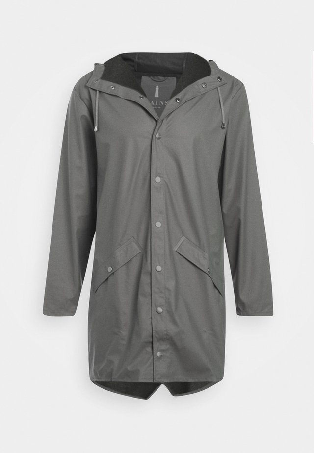 LONG JACKET UNISEX - Waterproof jacket - smoke
