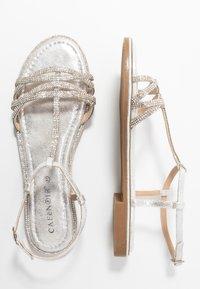 CAFèNOIR - Sandals - argento - 3