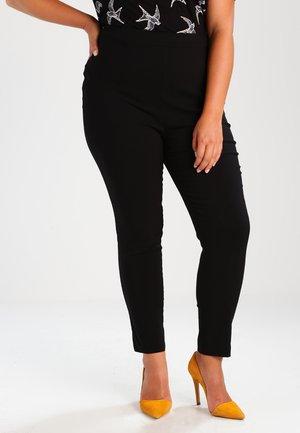 PULON - Trousers - black