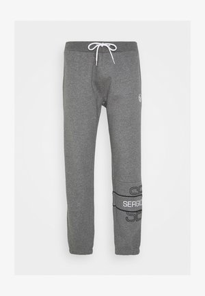 BLINK PANTS - Pantaloni sportivi - darkgreymelange/black