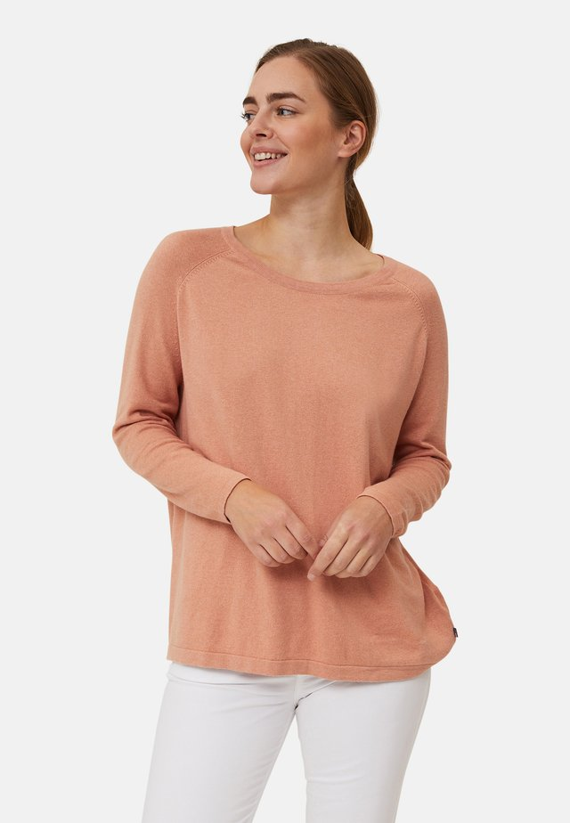 Pullover - pink melange