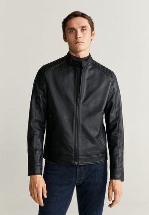BRAKE - Faux leather jacket - black