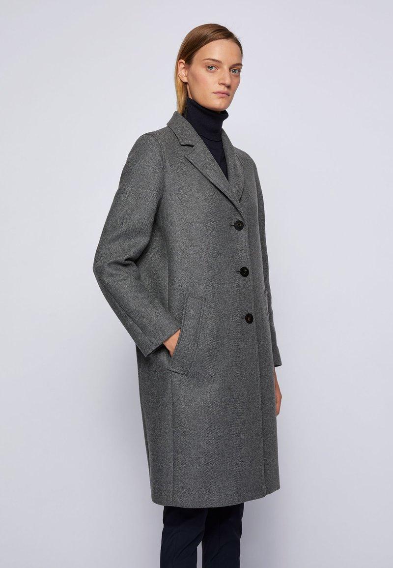 BOSS - Classic coat - grey
