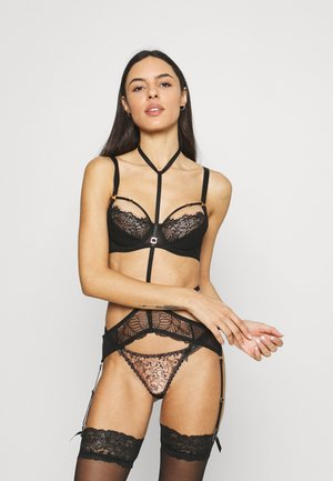 ENYA SUSPENDER HARNESS  - Reggicalze - black