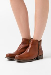 Anna Field - LEATHER  - Ankle boots - cognac - 0