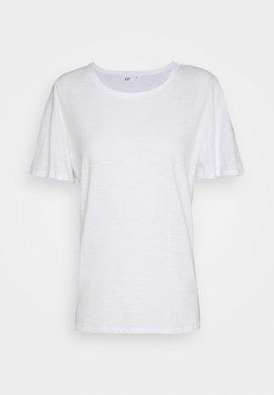 SLUB  - Basic T-shirt - fresh white