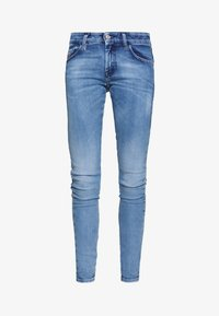 Diesel - SLANDY LOW - Jeans Skinny Fit - blue denim - 3