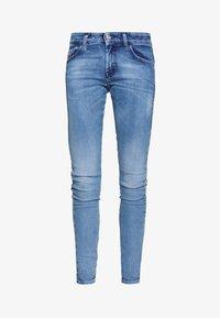 SLANDY LOW - Jeans Skinny Fit - blue denim