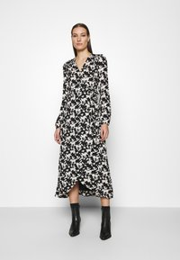 Fabienne Chapot - NATASJA DRESS - Maxi dress - black/warm white - 0