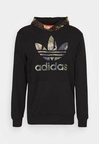 adidas Originals - CAMO BLOCK - Hoodie - black - 5