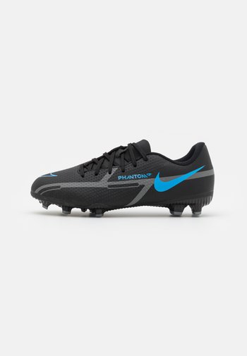 JR. PHANTOM GT2 ACADEMY UNISEX - Moulded stud football boots - black/iron grey